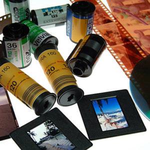 Оцифровка фотопленок